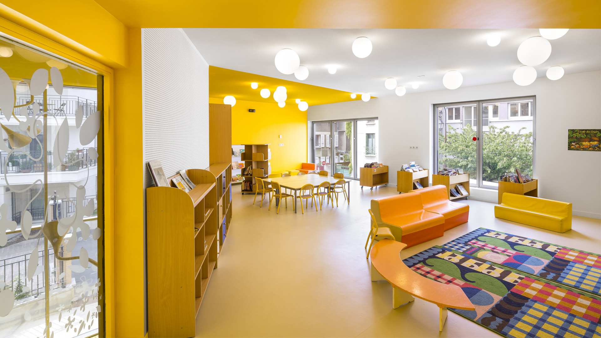 École maternelle + Centre de loisirs | Brenac & Gonzalez et Associés