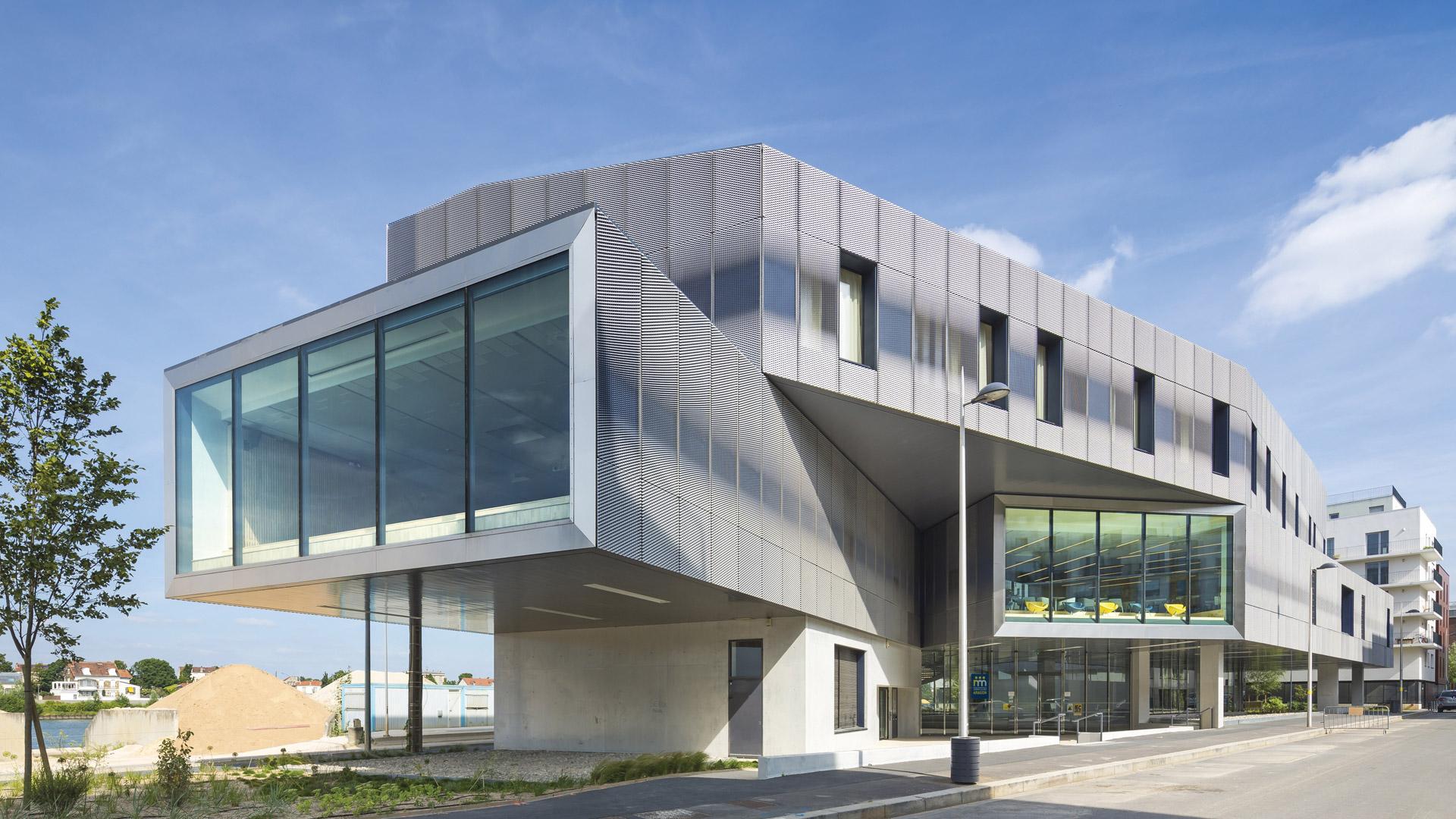 Médiathèque Aragon | Brenac & Gonzalez et Associés