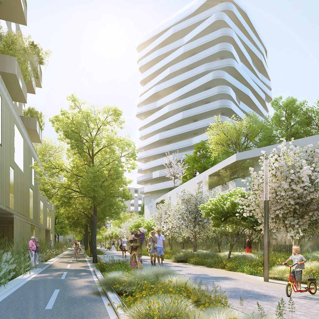 Quartier Yuri Gagarine | Brenac & Gonzalez et Associés