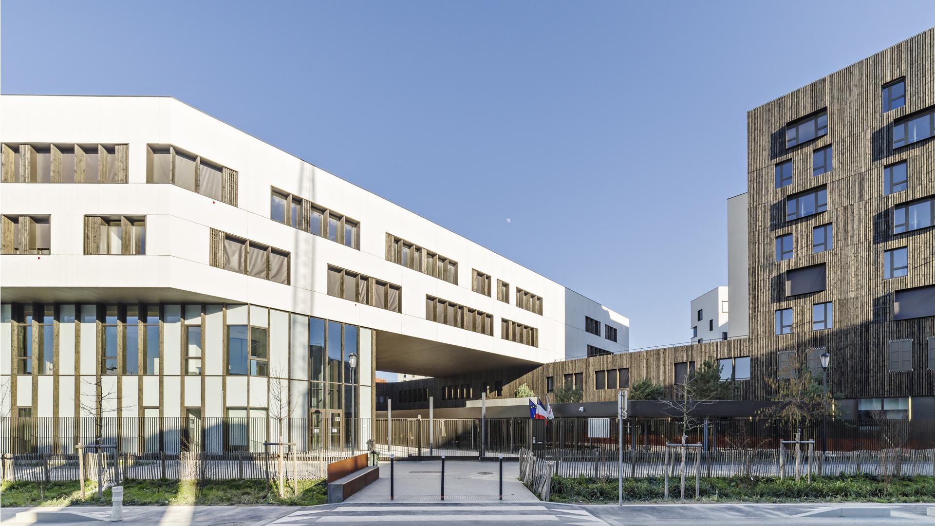 Lycée La Plaine   Brenac & Gonzalez et Associés