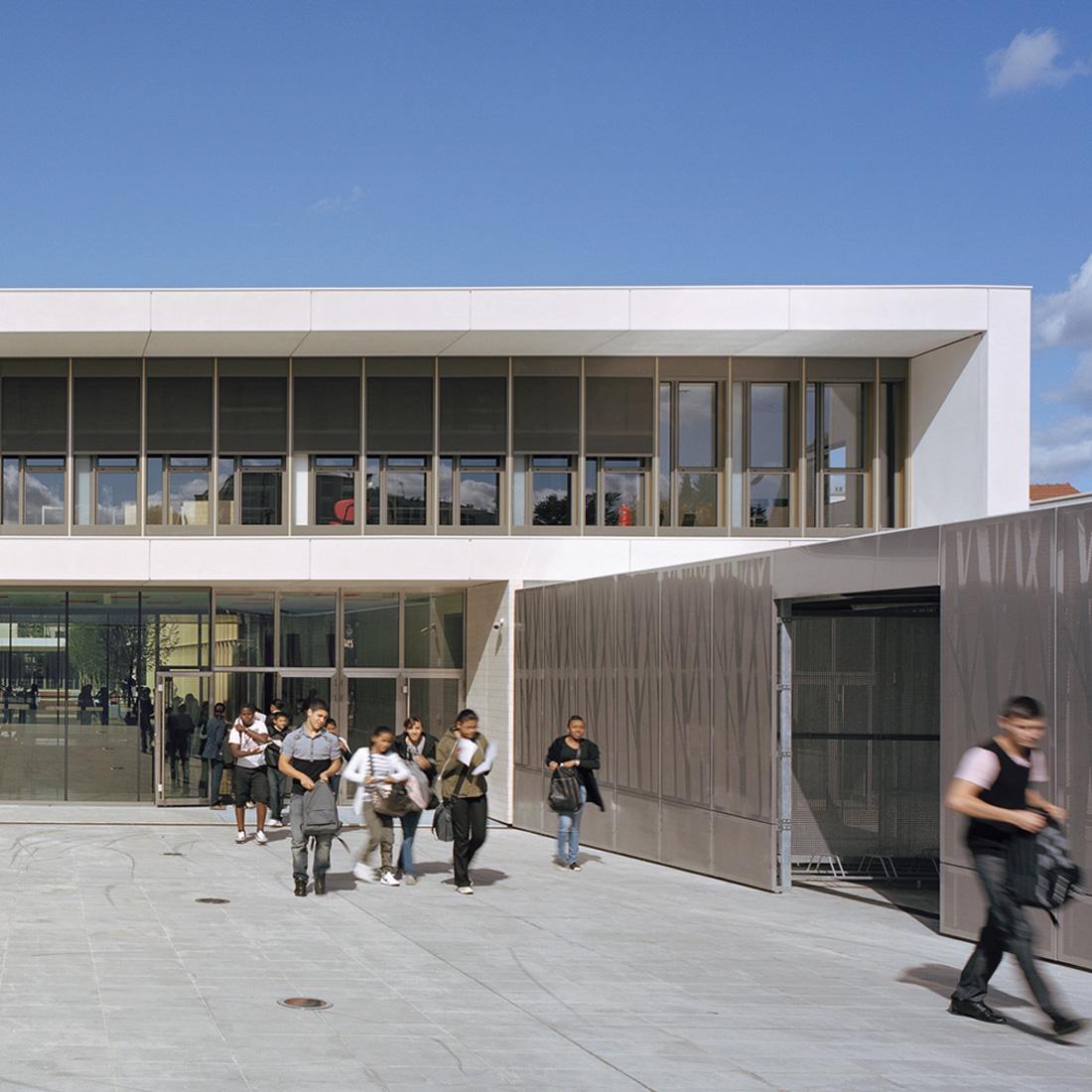 Collège Jean Perrin | Brenac & Gonzalez et Associés