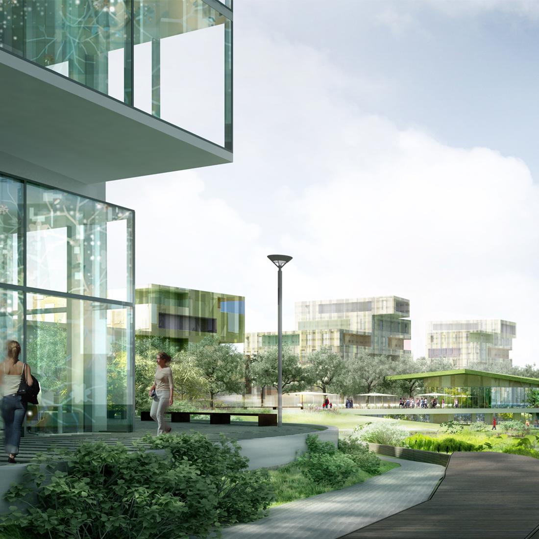 éco-quartier Ile Saint-Denis | Brenac & Gonzalez et Associés