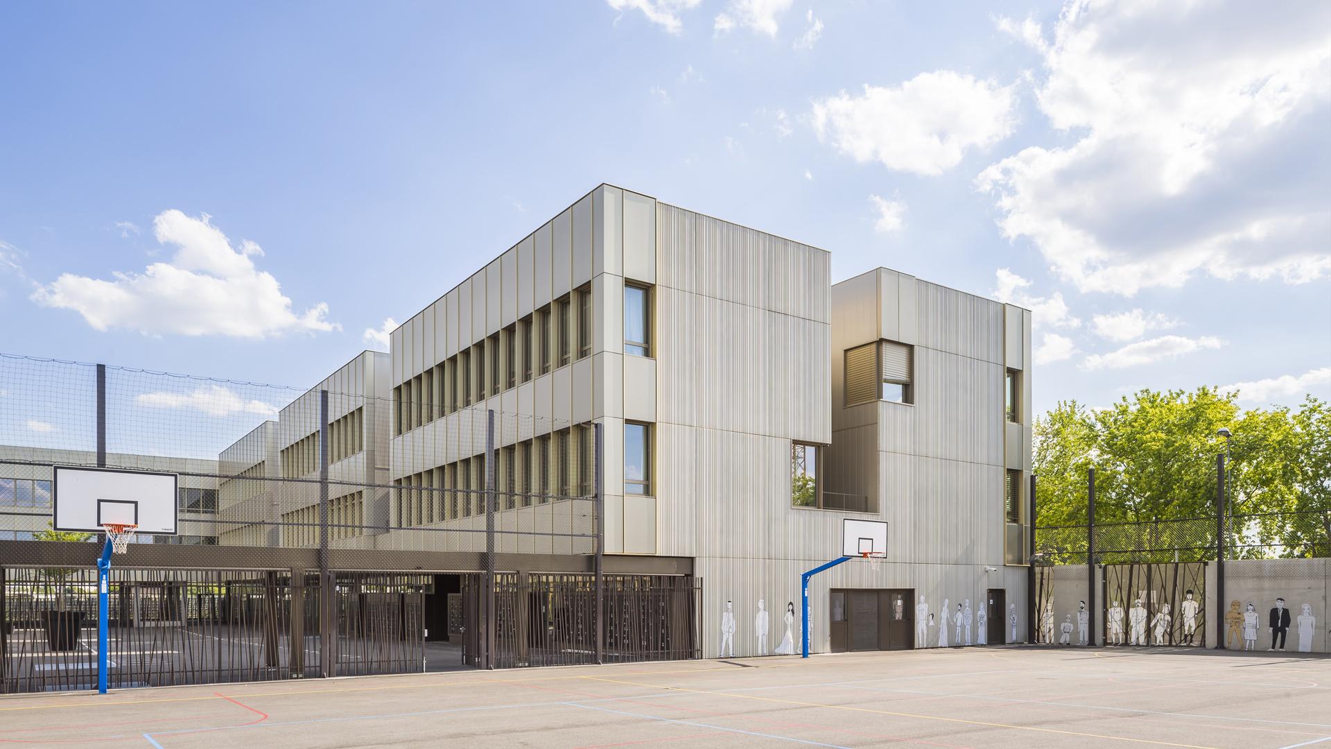 Collège Barbara | Brenac & Gonzalez et Associés