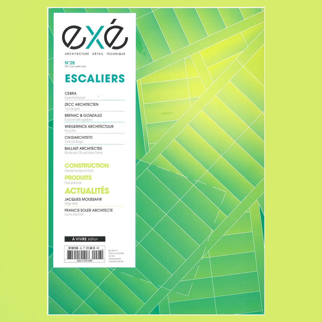 eXé N°28 – ESCALIERS | Brenac & Gonzalez et Associés