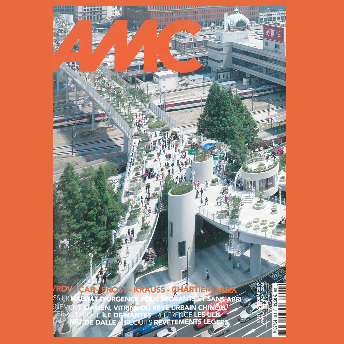 AMC N°263 Dossier Ile de Nantes | Brenac & Gonzalez et Associés