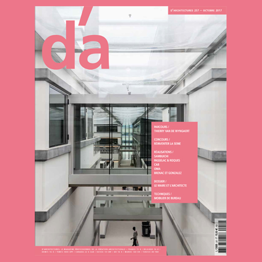 d'Architecture N°257 – Octobre 2017 | Brenac & Gonzalez et Associés