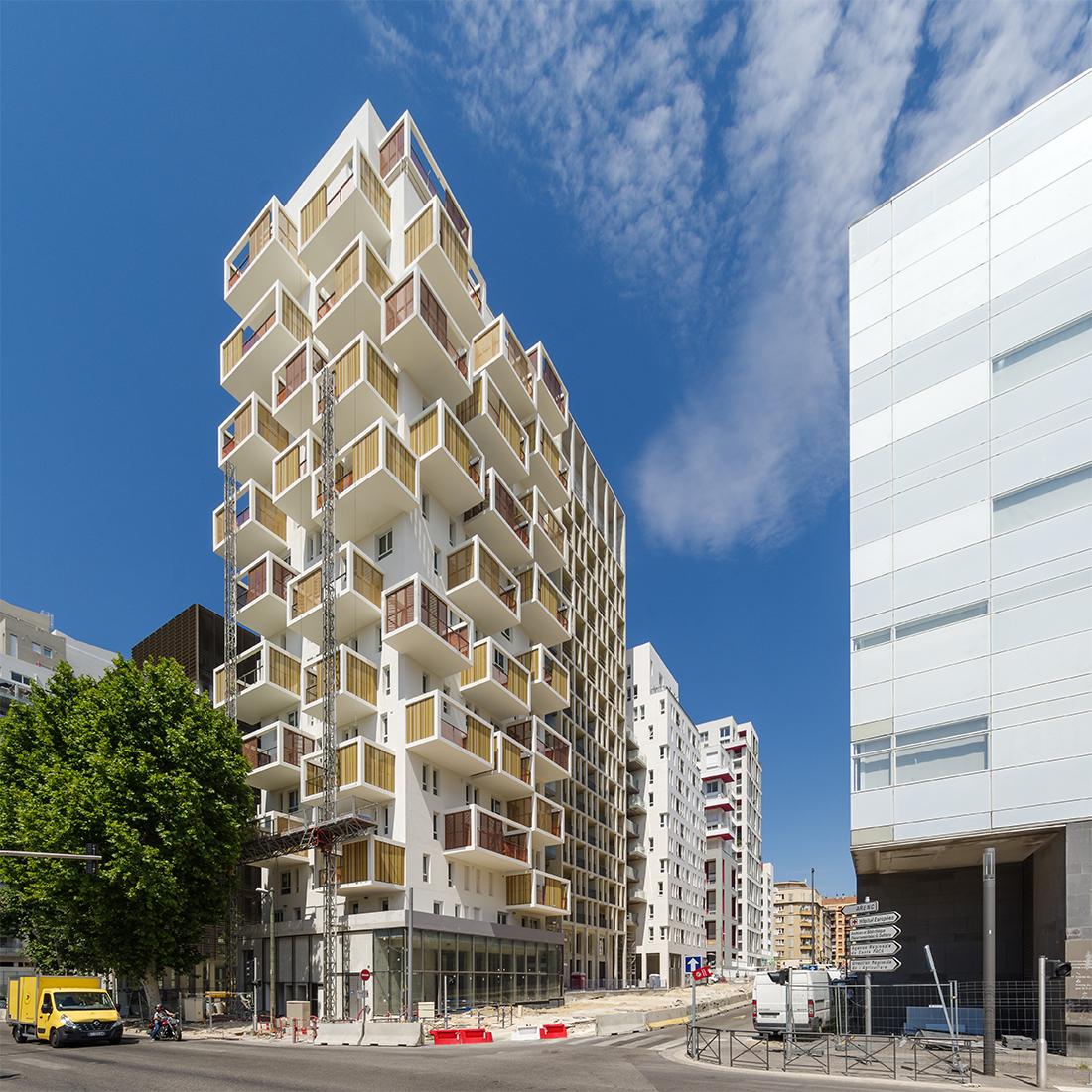 125 logements Marseille   Brenac & Gonzalez et Associés