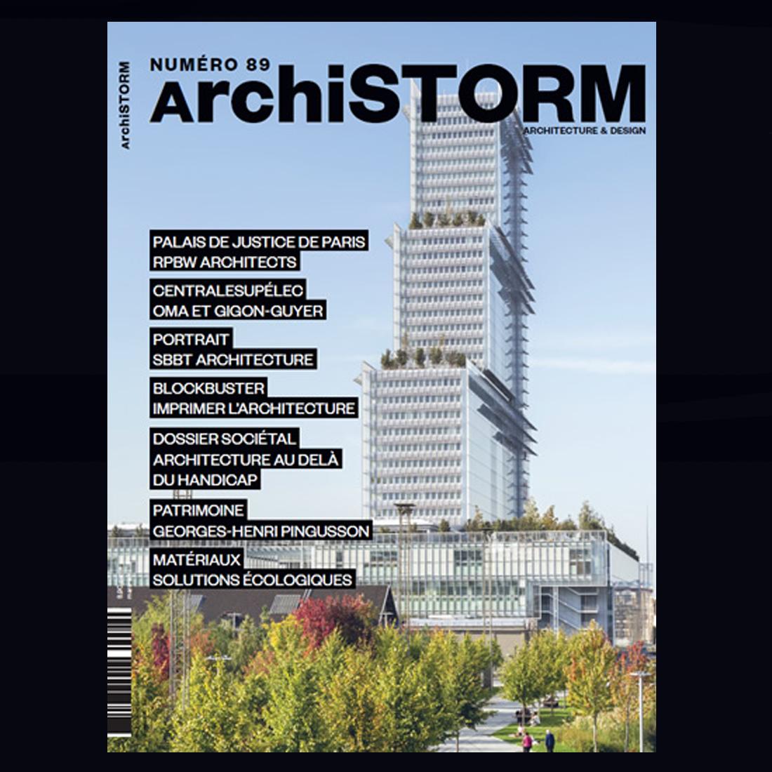 ArchiSTORM N°89 | Brenac & Gonzalez et Associés