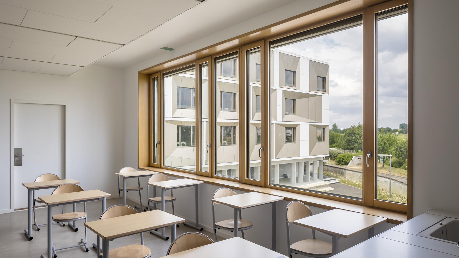 Extension du lycée Emilie du Châtelet | Brenac & Gonzalez et Associés
