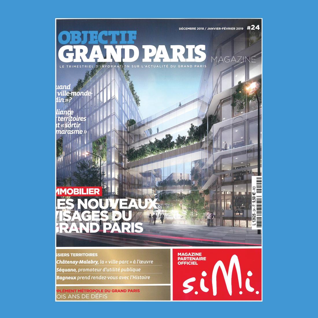 OBJECTIF GRAND PARIS N°24 | Brenac & Gonzalez et Associés