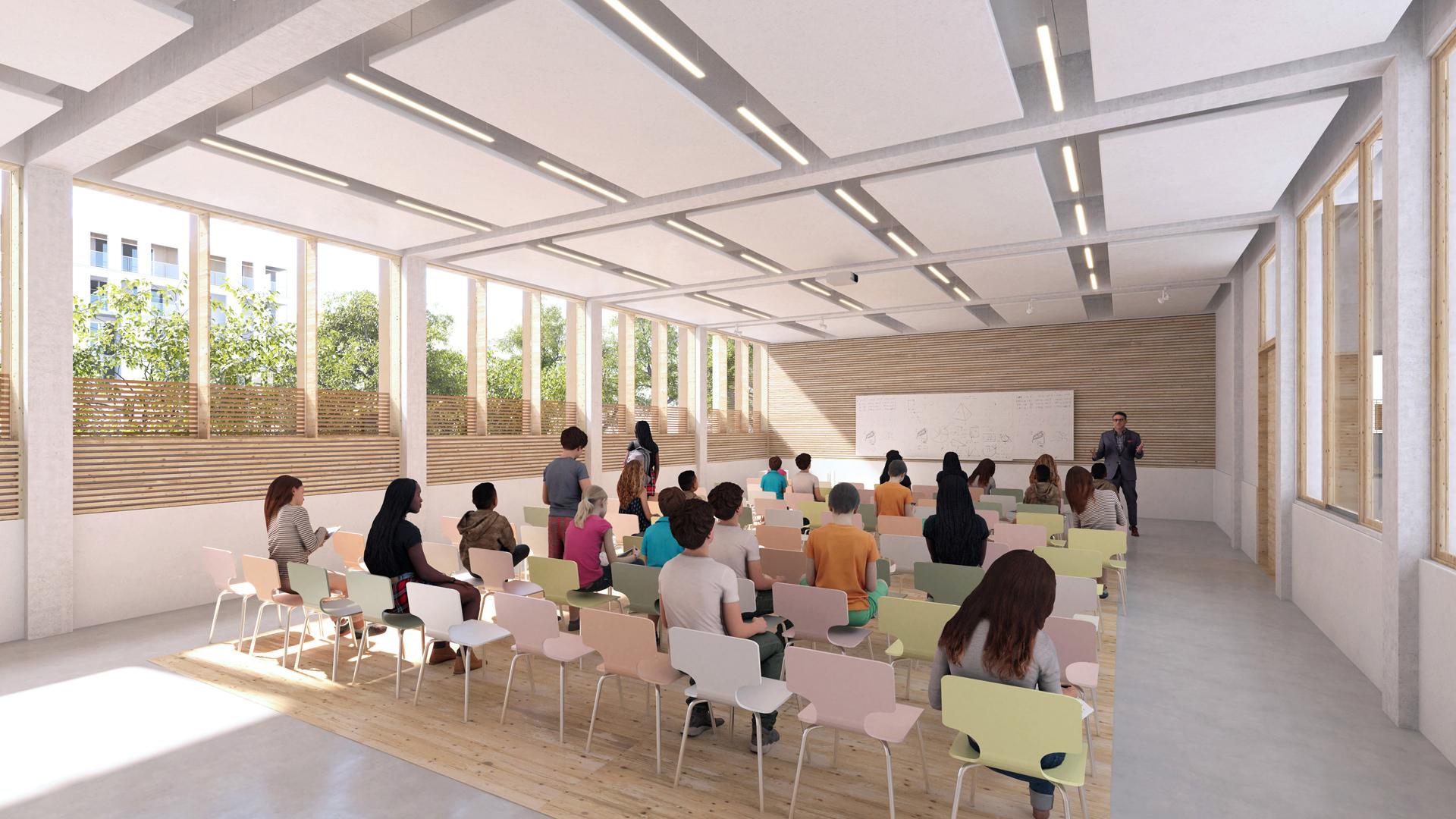 Collège Voltaire | Brenac & Gonzalez et Associés