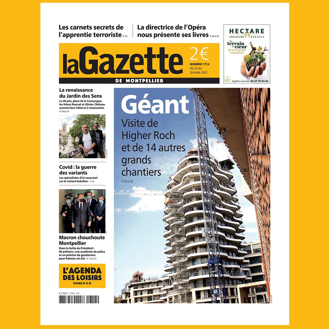 La Gazette de Montpellier #1714 Avril 2021 | Brenac & Gonzalez et Associés